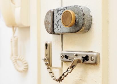 Türsicherung - Sicherheitsschloss
