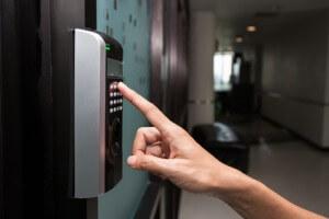 Elektronisches Sicherheitsschloss