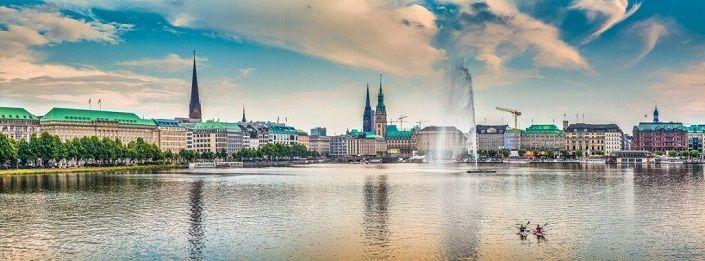 Hamburg Stadt Panorama